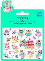 Феи и крылышки набор наклеек с блестками Djeco (DJ09783)