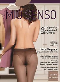 "Колготки Mio Senso ""Pure Elegance 40 den"" caramel, size 2 (3899)   5 шт."