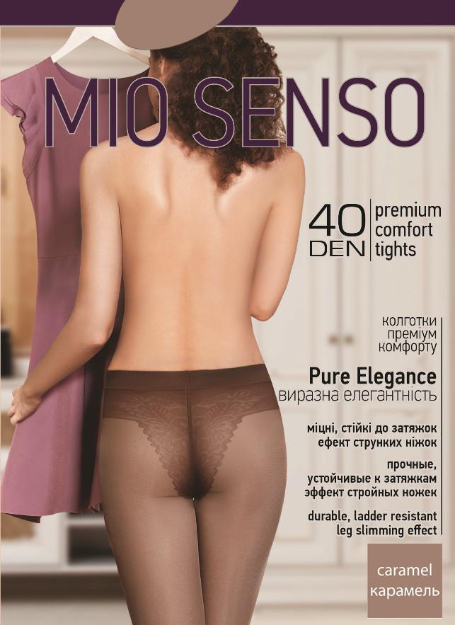 "Колготки Mio Senso ""Pure Elegance 40 den"" caramel, size 2 (3899) | 5 шт."