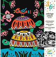 Художественный комплект для рисования Забавные животные Djeco (DJ09624)