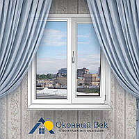 Двухстворчатое металлопластиковое окно Windom