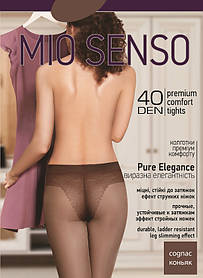 "Колготки Mio Senso ""Pure Elegance 40 den"" cognac, size 2 (3929)   5 шт."