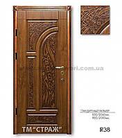 """Двери бронированные ТМ """"Страж"""" Patina R 38"""
