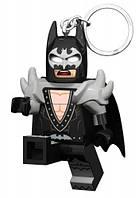 Бэтмен глэм рокер брелок фонарик LEGO Batman Movie IQ (LGL-KE103G)