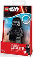 Кайло Рен брелок фонарик Lego Star Wars IQ (LGL-KE93)