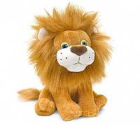 Львёнок Кузя сидящий 22 см звук Lava (LF542)