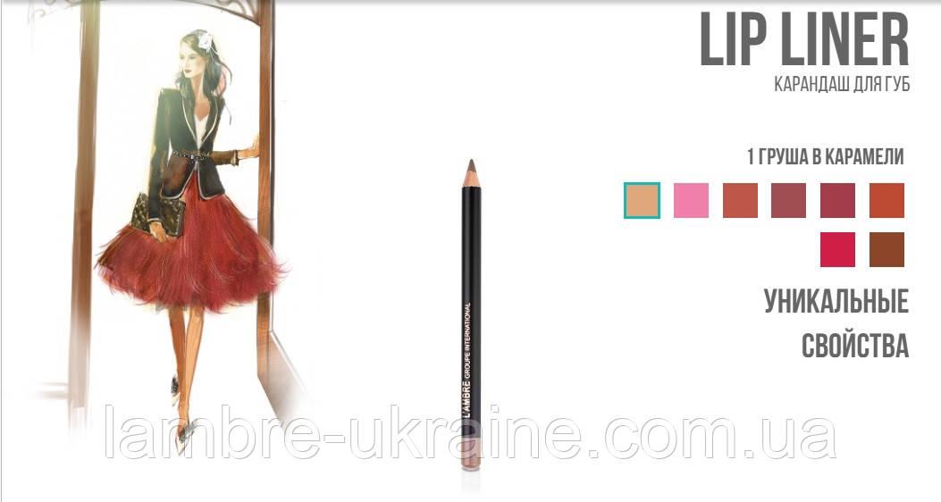 Карандаш для губ LipLiner № 4 - Шоколад от Ламбре