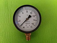 Манометр МПЗ-У от  0 - 1,6 МПа (16 атмосфер),Ø 100 мм, фото 1