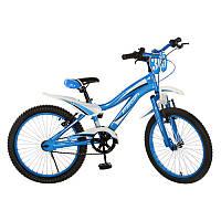"""Велосипед PROFI дитячий 20"""" SX20-19-1 синій, дзвінок, підніжка, кор., 82-52-17 см"""