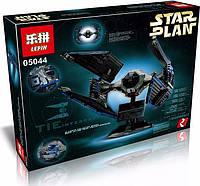 Конструктор Lepin 05044 TIE Interceptor - аналог лего Star Wars, 733 дет.