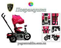 Детский трехколесный велосипед Crosser T 400 Air - Розовый