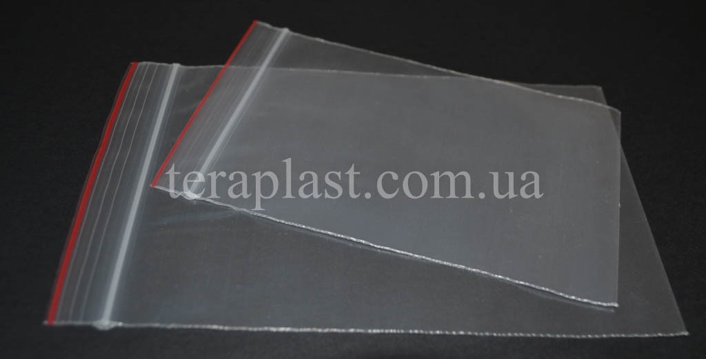 Пакеты с замком зип-лок 200*250 мм (50мкм)