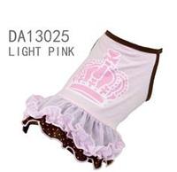 Платье для собак  Добаз , Dobaz  Crown шоколад