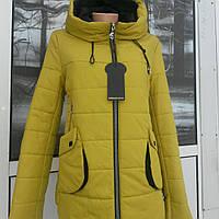 Весенняя женская куртка футляр  американка
