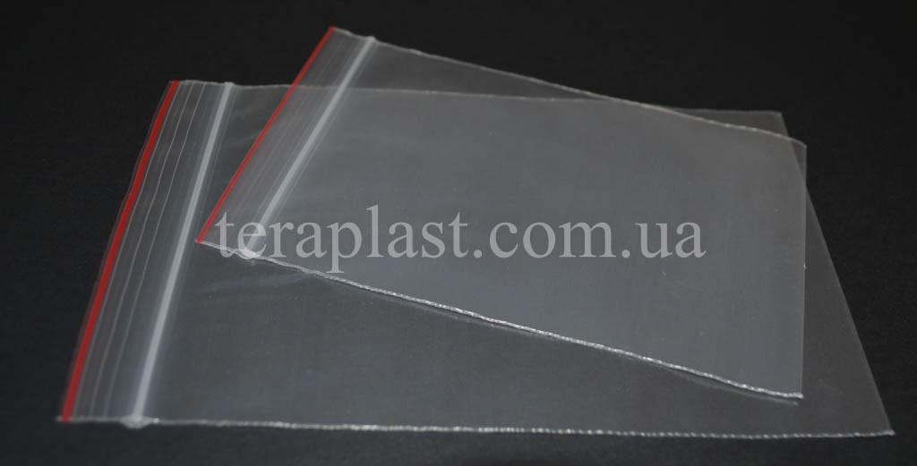Пакеты с замком зип-лок 220*280 мм  (50мкм)