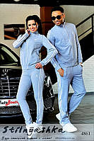 Спортивный костюм мужской и женский Adidas серый