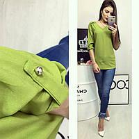 Блузка женская, модель 775, яблоко, фото 1