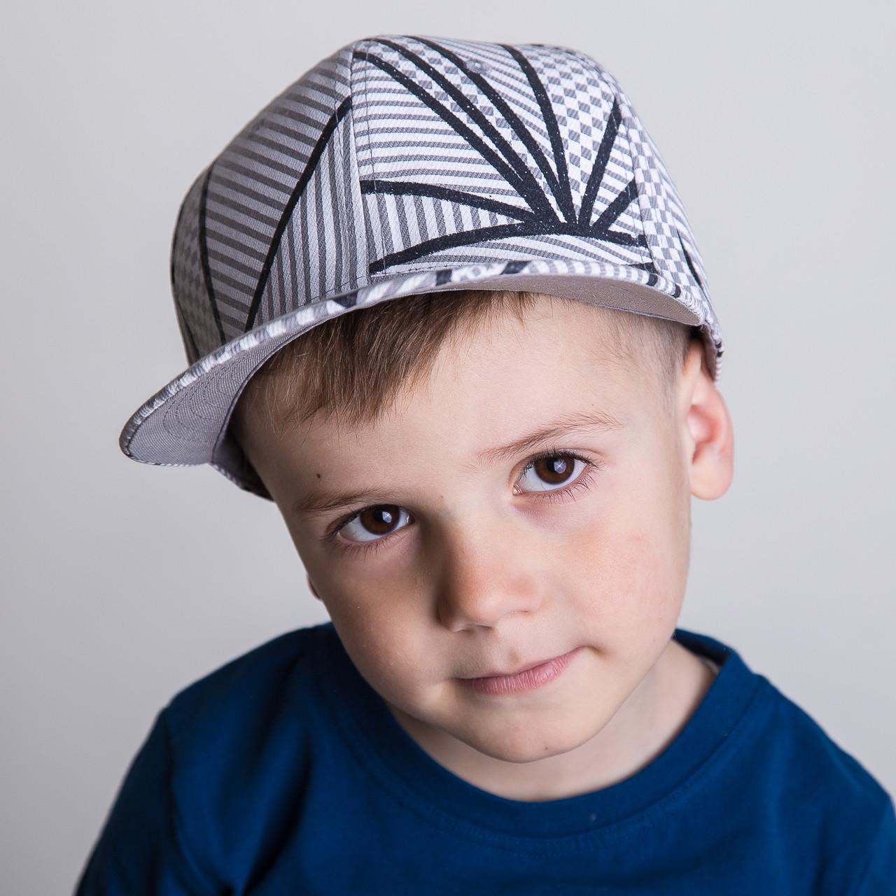 Реперская кепка для мальчика Snapback от производителя - Паутина - Б40