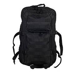 Рюкзак через плечо большой Mil-Tec Black
