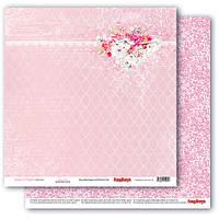 Бумага для скрапбукинга двустор Яблоневый цвет Старинное поместье Scrapberry's, 1 шт