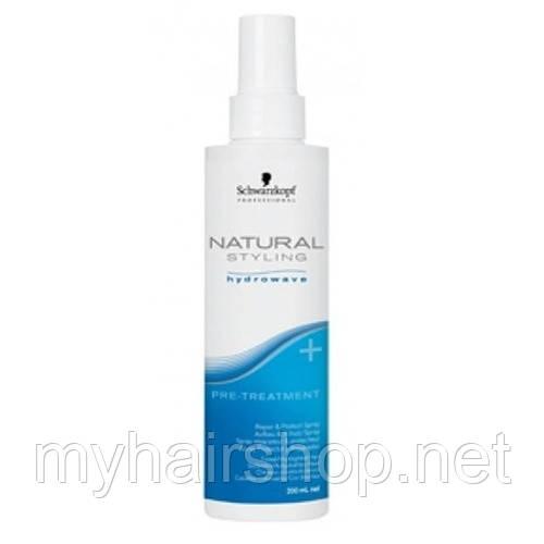 Спрей-уход восстановление и защита перед химзавивкой SCHWARZKOPF Natural Styling Glamour Wave Pre Treatment