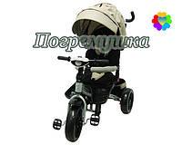 Детский трехколесный велосипед Crosser T 400 Eva - Бежевый