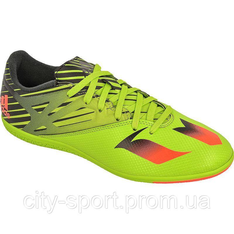 Футбольная обувь для игры в зале (футзалки) Adidas Messi 15.3 IN арт. S74691 ac98eb3afe4