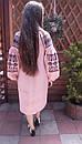 Платье женское бохо вышиванка лен, этно, стиль бохо шик, вишите плаття вишиванка, Bohemian,стиль Вита Кин, фото 4