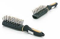 Titania - Щетка для укладки волос с каналами мини