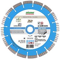 Круг алмазный Distar Meteor 230 мм сегментный диск по тяжелому и высокоармированному бетону на УШМ