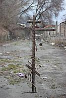 Крест кованый на могилу, фото 1