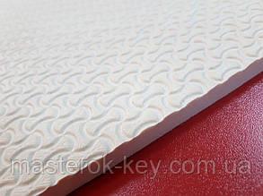 Облегчённая микропористая резина TOMS 440*690*8 мм цвет белый