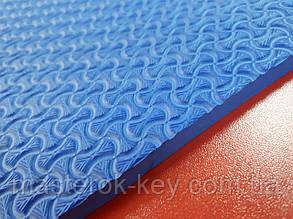 Облегчённая микропористая резина TOMS 440*690*8 мм цвет синий