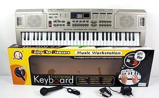 Детский синтезатор MQ 816 USB
