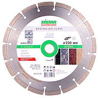 Круг алмазный Distar Bestseller 1A1RSS/C3 HIT Stone 230мм, сегментный отрезной диск по граниту, Дистар