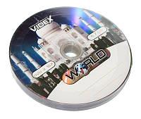 Диск DVD-R 10 шт. Videx 'World Тадж-махал', 4.7Gb, 16x, Bulk Box