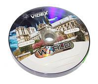 Диск DVD-R 10 шт. Videx 'World Собор', 4.7Gb, 16x, Bulk Box