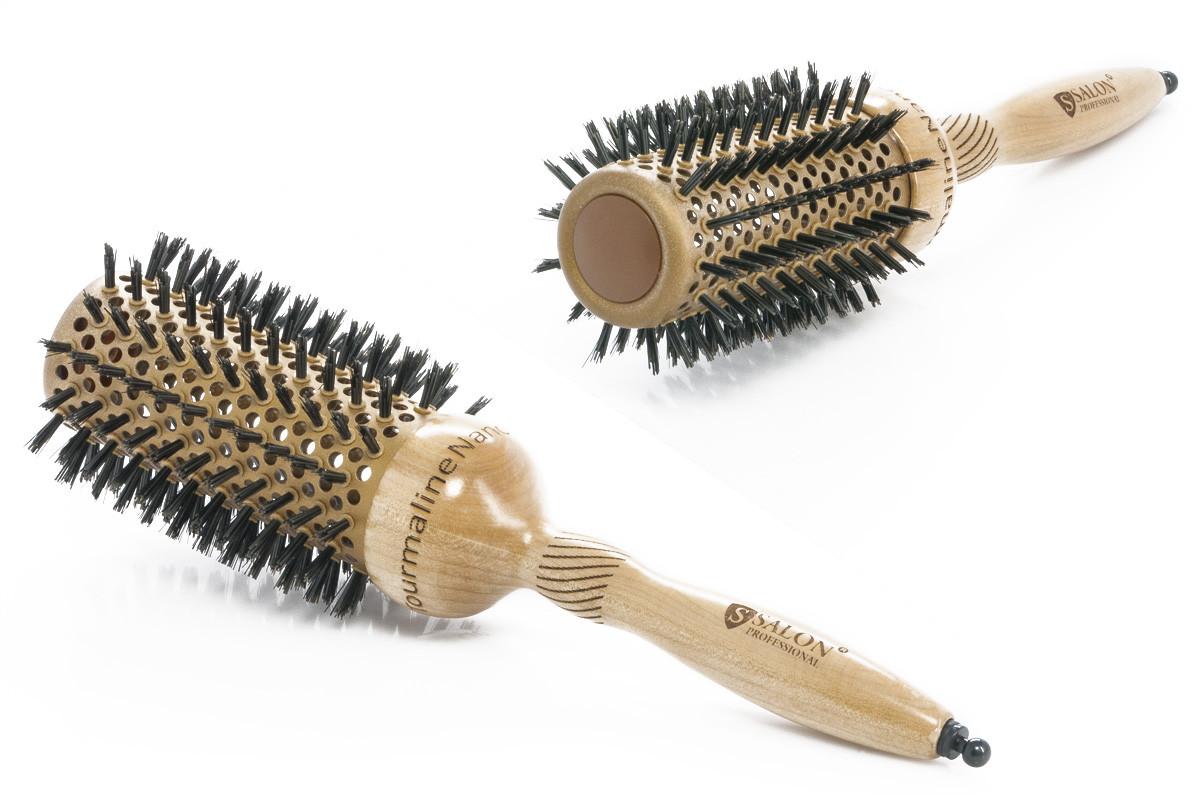 Salon Брашинг керамический натуральная щетина 5M504A4 Код 3586