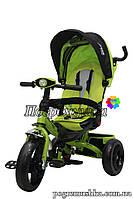 Детский трехколесный велосипед Crosser T 400 Eva - Зеленый