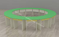 Столы в детский сад 14 шт 595*450*420h