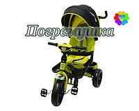 Детский трехколесный велосипед Crosser T 400 Eva - Желтый