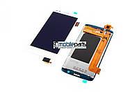 Оригинальный дисплей (модуль) + сенсор (тачскрин) для Fly FS504 (Белый)