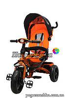 Детский трехколесный велосипед Crosser T 400 Eva - Оранжевый