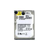 Жесткий диск для ноутбука 320Gb Western Digital AV, SATA2, 8Mb, 5400 rpm (WD3200BVVT) (Ref)