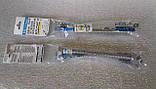 Гофрошланг нержавеющий 1/2х М10(3/8) 40см DN8 Eco-flex. Для подключения смесителей и сантехники, фото 4