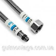 Шланг сильфонный 1/2х М10(3/8) 50см DN8  Eco-flex. Для подключения сантехнических приборов и смесителей