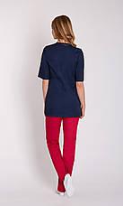 Женская медицинская куртка топ Дана - Одежда для косметологов, фото 3
