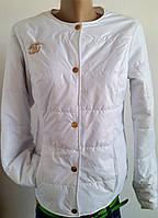 Куртка женская Шанель белая р 42-46