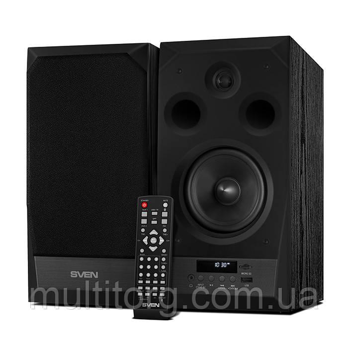 Колонки 2.0 SVEN MC-20 Bluetooth, 90 Вт чтение SD-карт, FM-радио
