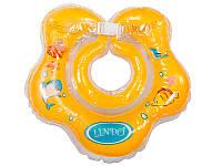 LN-1558 Круг для купання малышей желтый